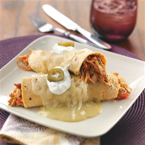 Turkey Enchiladas Verdes Recipe