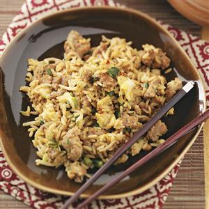 Turkey Fried Rice for Two Recipe