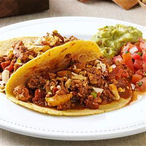 Turkey Mole Tacos Recipe