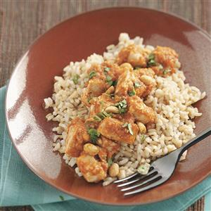Turkey Mole with Rice for Two Recipe