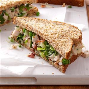 Turkey Salad on Wheat Bread Recipe