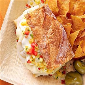 Turkey Sandwich with Pineapple Salsa Recipe