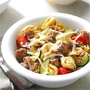 Turkey Tortellini Toss Recipe