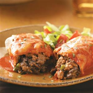 Turkey and Black Bean Enchiladas Recipe