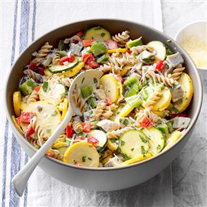 Turkey and Pasta Ranch Salad Recipe
