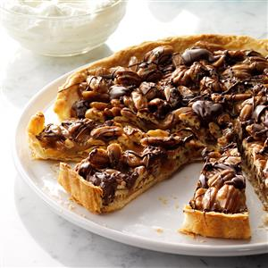 Turtle Praline Tart Recipe