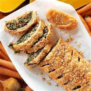 Tuscan Artichoke & Spinach Strudel Recipe