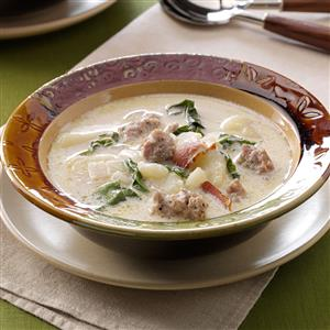 Tuscan Sausage and Potato Soup Recipe