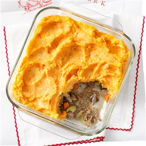 Two-Potato Shepherd's Pie Recipe