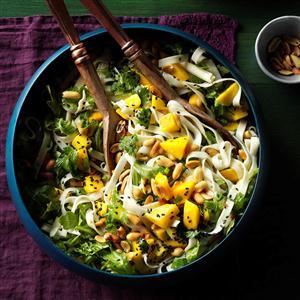 Udon Noodles with Pineapple Vinaigrette Recipe