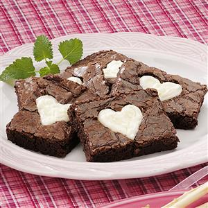 Valentine Brownies Recipe