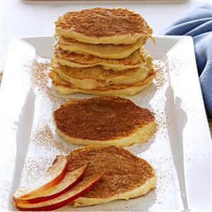 Vanilla & Cinnamon-Kissed Apple Latkes Recipe