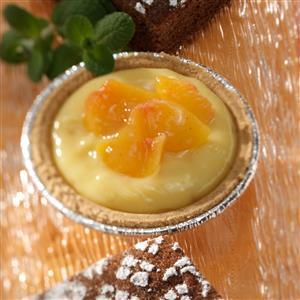 Vanilla Peach Tarts Recipe