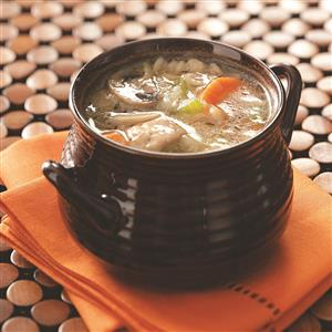 Vegetable Chicken Barley Soup Recipe