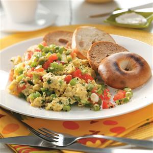 Vegetable Scrambled Egg Substitute Recipe
