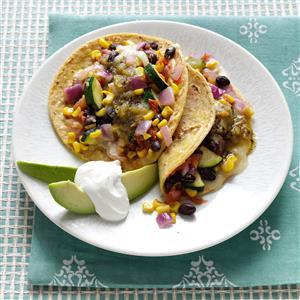 Veggie Bean Tacos Recipe