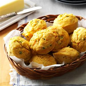 Veggie Corn Muffins Recipe