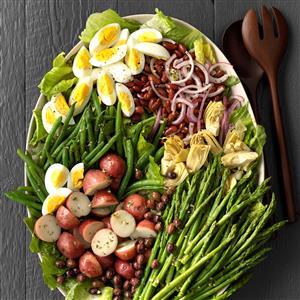 Veggie Nicoise Salad Recipe
