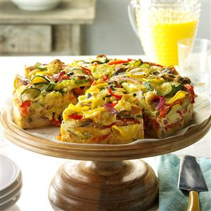 Veggie-Packed Strata Recipe
