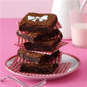 Very Chocolate Chip Brownies Recipe