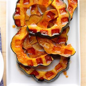 Waffle Iron Acorn Squash Recipe