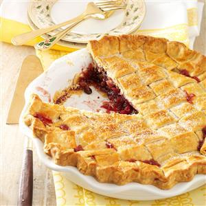 Walnut-Cranberry Lattice Pie Recipe