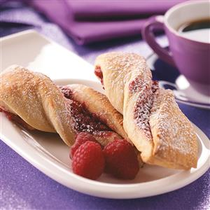 Walnut Raspberry Ribbons Recipe
