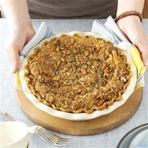Walnut-Streusel Pumpkin Pie Recipe