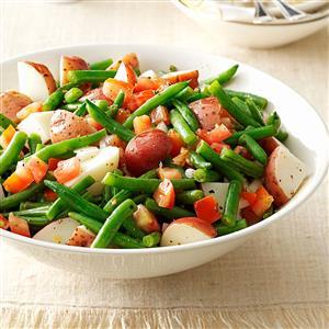 Warm Green Bean & Potato Salad Recipe