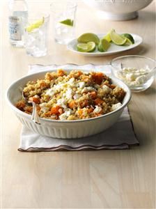 Warm Squash & Quinoa Salad Recipe