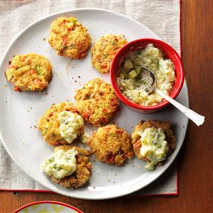 Wasabi Crab Cakes Recipe