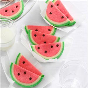 Watermelon Slice Cookies Recipe