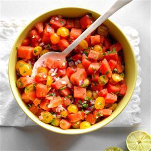 Watermelon Tomato Salad Recipe