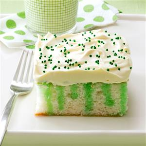 Wearing o' Green Cake Recipe