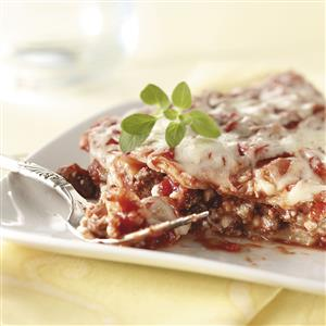 Weekday Lasagna Recipe