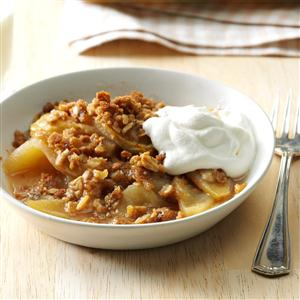 Weeknight Apple Crisp Recipe