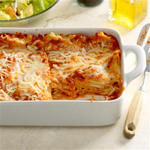 Weeknight Lazy Lasagna Recipe