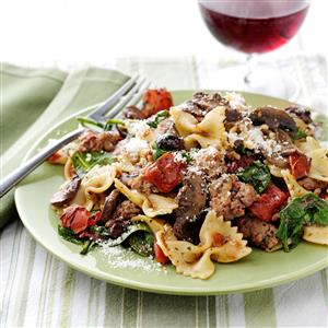 Weeknight Pasta Supper Recipe
