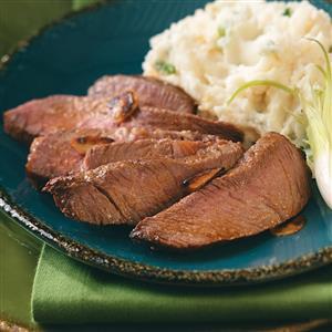 Whiskey Sirloin Steak Recipe