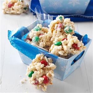White Chip Peanut-Pretzel Clusters Recipe