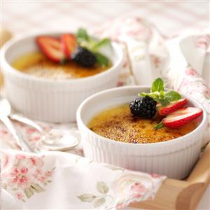White Chocolate Creme Brulee Recipe