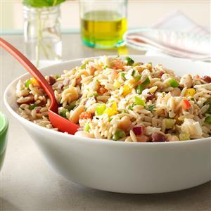 Whole Wheat Orzo Salad Recipe
