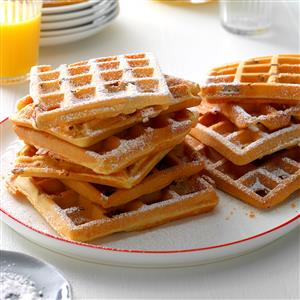 Whole Wheat Pecan Waffles Recipe