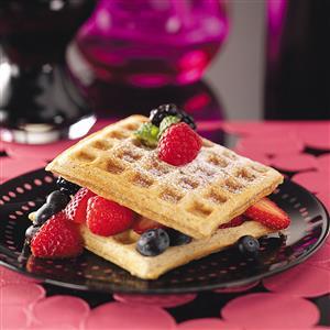 Wholesome Whole-Grain Waffles Recipe