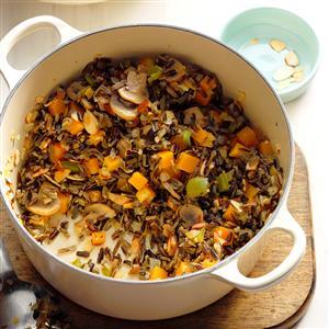 Wild Rice and Squash Pilaf Recipe