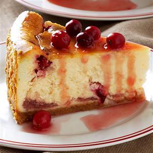 Winning Cranberry Cheesecake Recipe