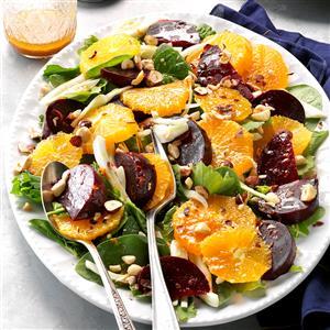 Winter Beet Salad Recipe