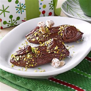Yule Log Cookies Recipe