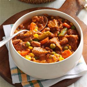 Zesty Beef Stew Recipe