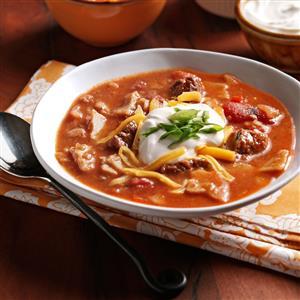 Zesty Tortilla Soup Recipe